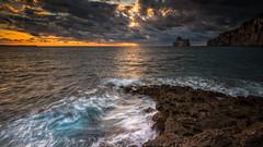 Nebida (Western Sardinia) [Explored] (piercarlobacchiphotography) Tags: nebida sardinia sardegna sea wwwpiercarlobacchiphotographycom seascape nikond750 nikonafs1635mmf4gedvr leefilters longexposure