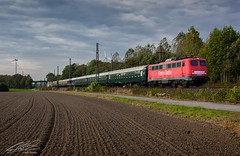 110 278-9 - Nordbögge - 14/10/2016 (spottermarc) Tags: baureihe br 110 115 2789 2784 278 centralbahn ag ch cbb kraussmaffei 18947 fabriknummer nordbögge deutsche bahn db railway lok loc bundesbahn dr class passenger passagier train trainspotting transport canon 5d mark ii engine spotter eisenbahn rail schiene wagen waggons schienenverkehr railroad bügelfalte loco tfz