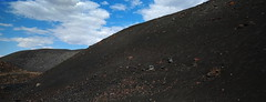 Pisgah Crater, Mojave Desert, CA (lotos_leo) Tags: pisgahcrater mojavedesert ca california cinder cone quarry black sand pumice landscape volcanic cinders mine pahoehoe crater            barstow sky terra outdoor mountains