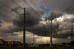Power Storm (arbyreed) Tags: arbyreed storm thunderstorm rain rainstorm dark clouds darkclouds stormclouds highvoltagepowerlines electrictransmissionlines saltlakecountyutah telegraphtuesday infrastructure powergrid electricpowerinfrastructure htt