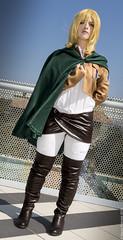 _MG_2717 (Mauro Petrolati) Tags: romics 2016 ottobre krista lenz shinkeki kyojin attack titan attacco giganti gumiku shingeki no historia reiss cosplay cosplayer