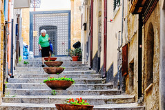 Cefalu (Kevin R Thornton) Tags: d90 nikon travel street cefalu architecture 2016 italy city sicily cefal sicilia it
