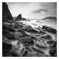 Misty Waters... (fearghal breathnach) Tags: mistywaters seascape fog longexposure bigstopper haida leefilters 5d canoneos5dmarkiii dinglepeninsula boulders rocks seastack kerry ireland