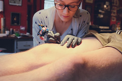 Tatouage By Dahnbi @ Arno Tatoo Reims (Landry NOBLET) Tags:  landry noblet x fuji x100s tatouage by dahnbi arno tatoo reims