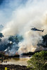 Incendio platamona (2) (Autolavaggiobatman) Tags: canadair incendio platamona pineta elicottero stagno fiamme fumo mare sardegna