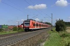 425 812 + 814 bei Ulm  07.08.16 (w. + h. brutzer) Tags: ulm