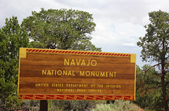 Navajo NM (Paige_Terhune) Tags: comment like follow landscape navajo nationalmonument nationalpark np sign