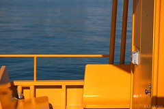 Yellow (sub)marine (nathaliedunaigre) Tags: jaune yellow boat bateau dtails details abstract abstrait formes colors couleurs color colored