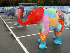 And...Repeat by Neil Carribine, Herd of Sheffield Farewell Weekend 2016 (Dave_Johnson) Tags: andrepeat neilcarribine herdofsheffield herd elephant elephants art streetart sculpture sheffchildrens sheffieldchildrenshospitalcharity sheffieldchildrenshospital childrenshospitalcharity childrenshospital sheffield southyorkshire meadowhall carpark shoppingcentre