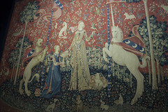 Lady and the Unicorn Tapestries - Cluny Museum (rfzappala) Tags: europe 2016 france paris cluny museum musee du moyen age medieval lady unicorn tapestries