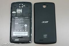 ACER Liquid C1 i110 Intel Atom Android smartphone