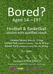 Kingsbrook and Cauldwell football event flyer Aug 2012 (Big Local) Tags: poster engagement flyer invitation posters leaflet publicity invite flyers leaflets biglocal kingsbrookandcauldwell localtrust