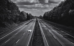 Highway A1 at friday midday (Explore) (mlphoto) Tags: blackandwhite bw motion car speed germany deutschland dynamic pentax explore sw a1 k5 leverkusen longtimeexposure ndfilter schwarzweis autobahna1 silverefex mlphoto pentaxk5 mlphoto markuslandsmannzenfoliocom markuslandsmann mlandsmann markuslandsmannphotography