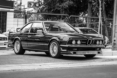 Old School Tuning (Saig) Tags: chile santiago alpina e bmw 24 35 coupe b9 e24