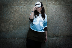 Bboy Fly Girl throw your hands in the air, ah yeah like you just don't care! (Mixelchic by Elena Palieri) Tags: fashion baseballcap newera eastpak bershka fashionshooting elenapalieri mixelchic