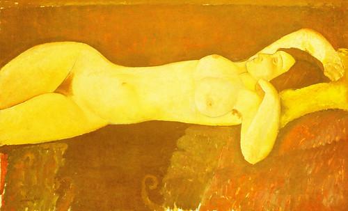 """Genealogía de las Soñantes, versiones de Lucas Cranach el Viejo (1534), Giorgione (1510), Tiziano Vecellio (1524), Nicolas Poussin (1625), Jean Auguste Ingres (1864), Amadeo Modigliani (1919), Pablo Picasso (1920), (1954), (1955), (1961). • <a style=""""font-size:0.8em;"""" href=""""http://www.flickr.com/photos/30735181@N00/8746829441/"""" target=""""_blank"""">View on Flickr</a>"""