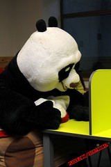 Kung Fu Panda studying (escritorio47) Tags: mandy light ice del canon buzz toy toys 1 crazy san panda y sebastian c flash year lion disney story gustavo leon age biblioteca uno pixar universidad era luis kung fu 36 polo hielo uss metz vivo menos scrat fernandez t3i locura polito zamudio jirafa frontis locuras photographies 600d af5