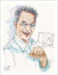 Marc (rafaelmucha) Tags: portrait cinema art apple digital ink display marc wacom corel aquarell cintiq 13hd