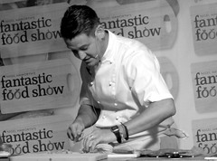 Chef Colin McGurran at Nigel Haworth's Fantastic Food Show - 12 (Tony Worrall Foto) Tags: show uk england food man celebrity cooking make festival fun demo northwest north restaurants tasty eaten blackburn event chef taste venue celeb nigel michelin reviews eatingout foodie asl chefs haworth lancs foodphotography taster celebritychefs 2013tonyworrall colinmcgurran