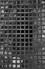 Iron Lattice (Eduardo Estllez) Tags: blackandwhite bw espaa blancoynegro photography reja monocromo photo spain puerta iron foto photographer bn badajoz fotografia medellin castillo historia lattice fotografo gruta extremadura hierro enrejado mazmorra vetonia eduardoestellez estellez metellinum metellinensis
