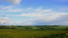 Rheinhessen (rainbowcave) Tags: blue sky clouds landscape nikon himmel wolken blau landschaft rheinhessen niederolm kleinwinternheim d7000