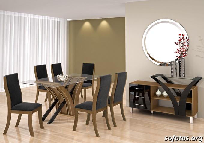Salas de jantar decoradas (148)