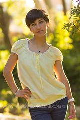 Laura Cmara (robertmossi) Tags: light portrait laura robert girl canon eos natural retrato ronda camara strobist 60d marcillas
