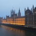 Palace of Westminster beside River Thames, London