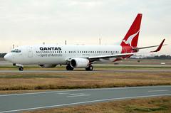 VH-VXK 'Katherine' Boeing 737-838 Qantas (Robert Frola Aviation Photographer) Tags: nikond70 boeing qantas 2007 boeing737 ybbn vhvxk boeing738 brisbanespottersweekend2007
