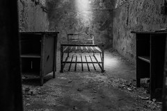 Eastern State Penitentiary (8) (tyrell.t) Tags: old blackandwhite abandoned philadelphia decay prison jail esp easternstatepenitentiary statepenitentiary