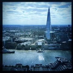 London skyline #theshard (kyivite2712) Tags: hipstamatic hipstaoftheday makebeautiful architecture landscapes elijah w40
