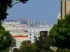 Los Angeles, CA scaffold signs (army.arch) Tags: losangeles california ca rooftop roof scaffold sign bryson asbury storage