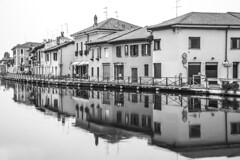 Cartolina da Gaggiano (fotopierino) Tags: fotopierino canon 5d mark iii naviglio grande black white rumore acqua borgo provincia di milano