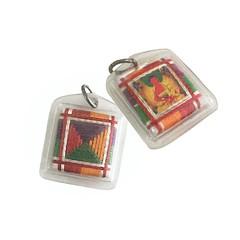 Meditational Buddha Amitabha Amulet in Traditional Tibetan Thangka Painting Style (Indo Magic) Tags: talisman amulet locket sungkhor meditation tantra vajrayani amitabha buddha buddhism buddhist tibetan tibet
