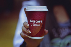 Nescaf (TheJennire) Tags: photography fotografia foto photo canon camera camara colours colores cores light luz young tumblr indie teen nescaf drink winter cold chile viadelmar nails cup hotdrink hands girl vacation coffee