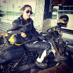 """happines is: meeting my old rider friends n meet my """"lady riders of India"""" girls (MaralYazarloo) Tags: superbikeofindia ladyridersofindia strongwomen happiness freedom lri life india loveliving ducatiindia ducati ducatista maralyazarloo maralmaya iran iraniandesigner cool colorful style stylish different lovewhatyoudo lovecolors fashion pune houseofmaya fun"""