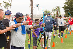 20160919_nvssc_day-2 (35) (U.S. Department of Veterans Affairs) Tags: summer sports clinic adaptive sandiego therapy sport archery chula vista olympic training center
