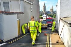 AUG_1623_00009 (Roy Curtis, Cornwall) Tags: uk cornwall truro resurfacing roadworks campfieldhill