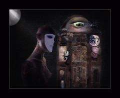 The Memory Vessel (jimlaskowicz) Tags: netartll memory vessel dark dream moody night artifacts textures layers artistic