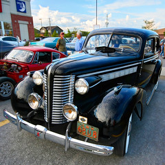 1938 Buick (Brian 104) Tags: black buick sedan 1938 restored cruisenight almonte hdr