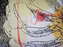 DSC0966855 (scott_waterman) Tags: scottwaterman painting paper ink watercolor gouache lotus lotusflower detail