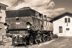 IMG_4948 (fotoalex757) Tags: train steam locomotive jz 18 005 slovenia dravograd aantonic fotoalex757 alex antonic aleksander railways old bw