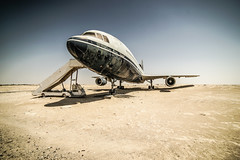 Sheikh Hamad bin Hamdan al Nahyan's Plane (CCaroDD) Tags: sheikh hamad bin hamdan al nahyan plane desert sony a7 rokinon 14mm