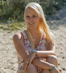 Lst-6359 (Maarten's fotografie & meer) Tags: blonde model summer wind hair sunnyday