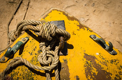 rope and knot I (Erzengel69) Tags: boat boot faro portugal riaformosa ruderboot