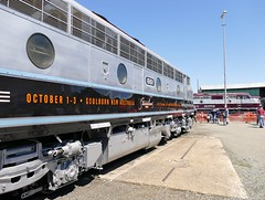 Streamliners 2016 (sth475) Tags: railway railroad  train old classic preserved heritage veteran diesel loco locomotive  bclass clyde gm emd ml2 gm1class cabunit bulldog ml1 oldest b61 gm1 streamliners streamliners2016 goulburnloco goulburn preservationcentre southerntablelands nsw australia spring