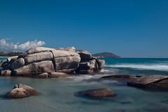 IMG_9454 (Amilcare Berti) Tags: sardegna sardinia mare sea seaside beach spiaggia onda wave rocks rocce acqua water mountain montagna reef promontorio amazingamazing