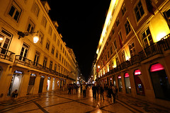 R. Augusta, Lisboa, Portugal () Tags: night canon 6d portugal lisboa   frank photographer relax vacation friends 1740l sky raugusta street