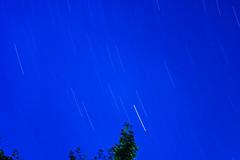 it never ever stops (pbo31) Tags: sanfrancisco california nikon d810 color september 2016 summer boury pbo31 night dark blue star trails space above longexposure lightstream motion visitaconvalley sky stars