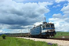 No Containers (Krali Mirko) Tags: bdz train locomotive wagon railway railroad bulgaria      freight cargo electric electroputere 060ea 46 46012 yahinovo